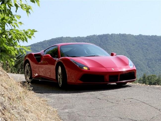 Сила притяжения. Ferrari 488 GTB