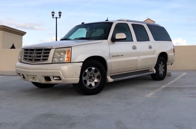 Cadillac Escalade второго поколения