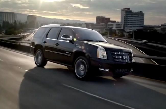 Cadillac Escalade третье поколения