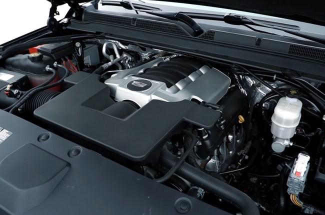 Cadillac Escalade двигатель