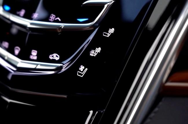 Cadillac Escalade кнопки подогрева и вентиляции сидений