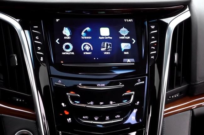 Cadillac Escalade мультимедия