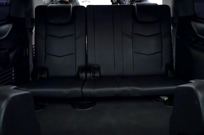 Cadillac Escalade третий ряд сидений