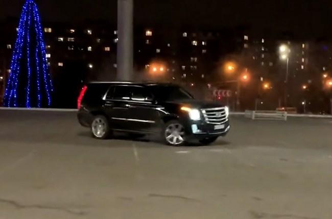 Cadillac Escalade дрифт
