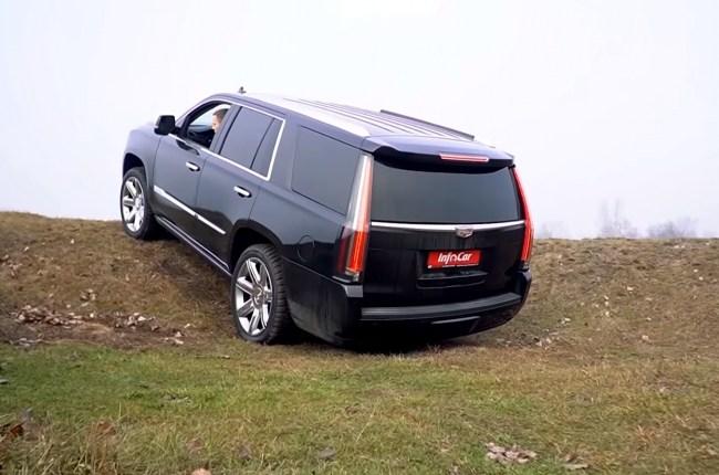 Cadillac Escalade Офф-роуд
