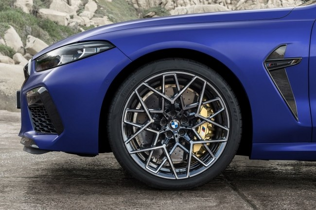Новый пик. BMW M8 Cabrio (F91)