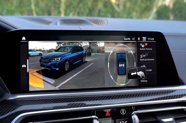 BMW X5 M мультимедийная система