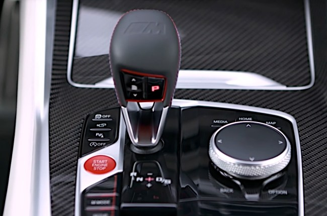 BMW X5 M селлектор АКПП