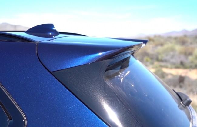 BMW X5 M спойлер