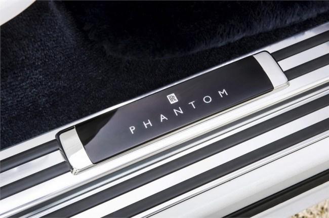 Королевский автомобиль для королевских особ. Rolls-Royce Phantom