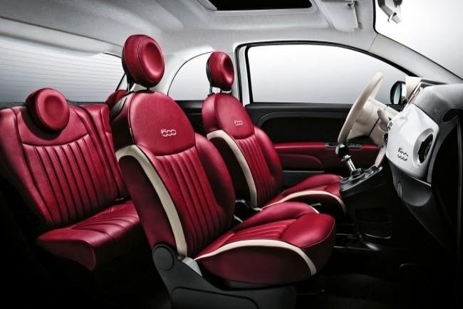 Выбираем два цилиндра. Fiat 500