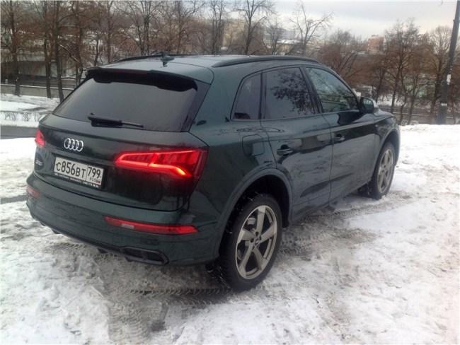 Cпорт в комфортном режиме. Audi SQ5