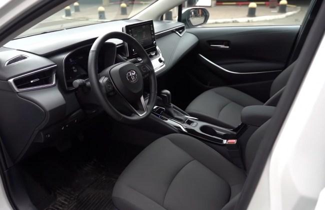 Toyota Corolla водительское место