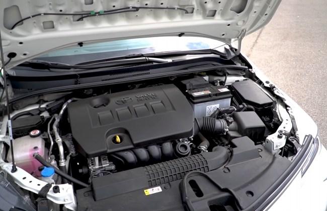 Toyota Corolla двигатель