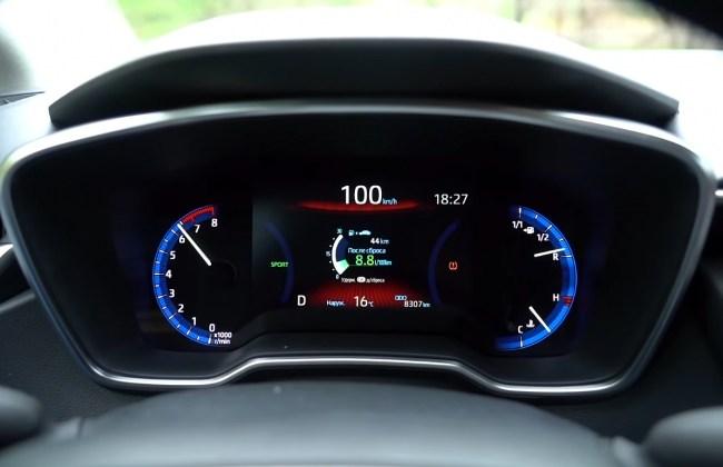 Toyota Corolla разгон до 100