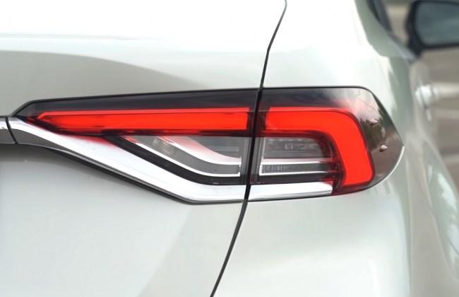 Toyota Corolla задние фонари