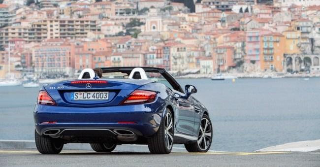 Mercedes SLC. Девочки, а он почти не изменился!. Mercedes SLC-Class (R173)