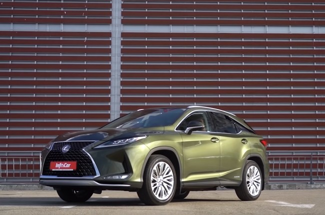 Lexus RX 450h: a luxury that doesn't need to rush