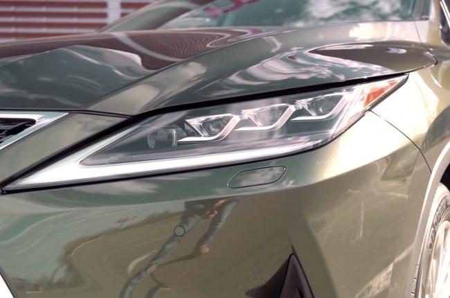Lexus RX 450h фары