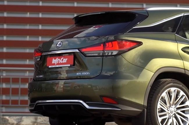 Lexus RX 450h задние фонари