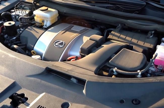 Lexus RX 450h двигатель