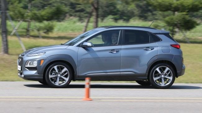 Hyundai Kona: Крепыш. Hyundai Kona