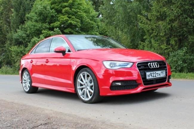 Audi A3 Sedan: Тяга к приключениям. Audi A3 Sedan