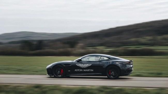 Правь, Британия: тест суперкаров Aston Martin. Aston Martin DBS Superleggera