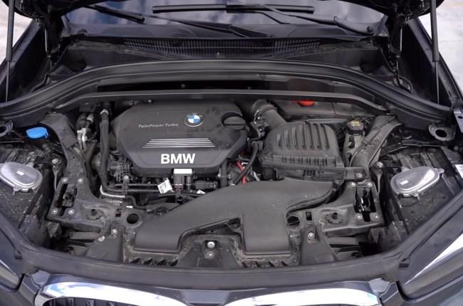 BMW X1 двигатель