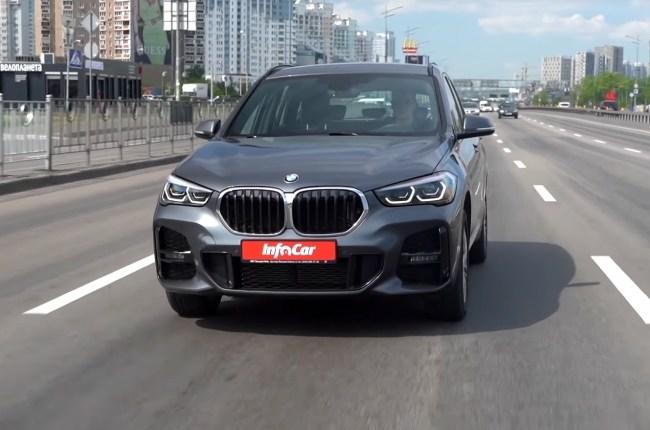 BMW X1 поведения на дороге
