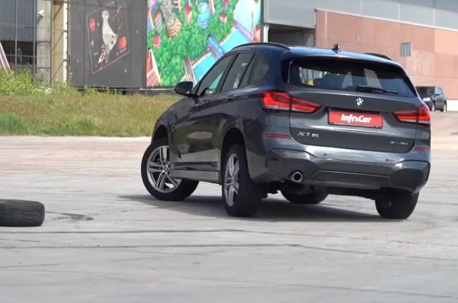 BMW X1 в развороте