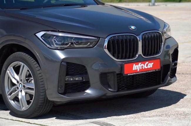 BMW X1 оптика и бампер