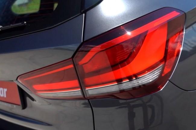 BMW X1 задние фонари