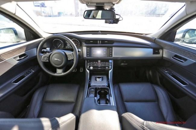 О пользе кошачьего мурчания. Тест-драйв Jaguar XF в зимней сказке.. Jaguar XF