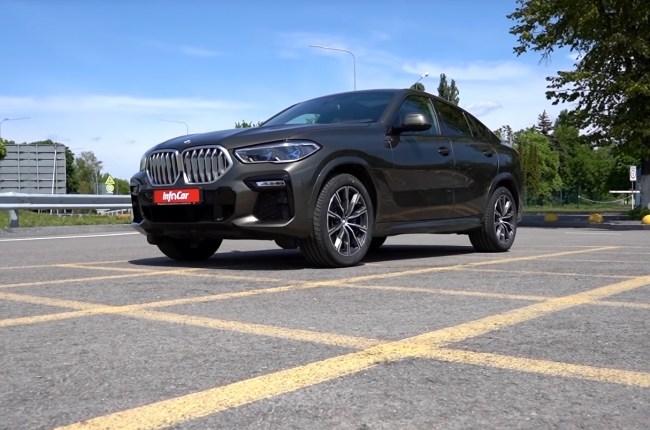 BMW X6 вид спереди