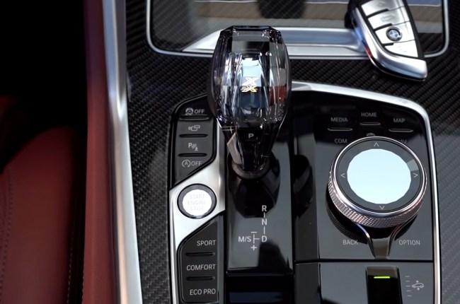 BMW X6 селектор АКПП