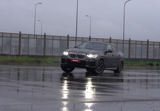 BMW X6 дрифт