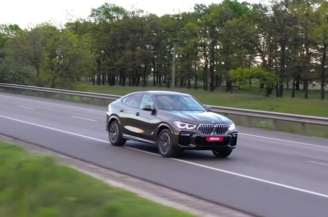 BMW X6 поведение на дороге