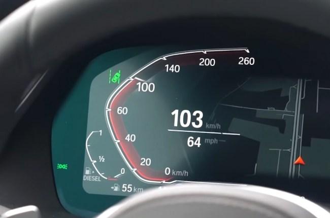 BMW X6 разгон до 100