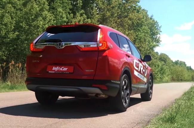 Honda CR-V Hybrid вид сзади