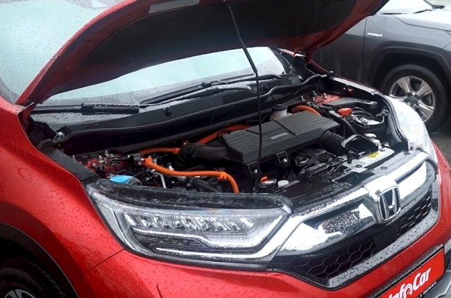 Honda CR-V Hybrid двигатель