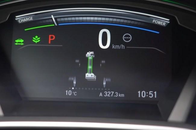 Honda CR-V Hybrid панель приборов