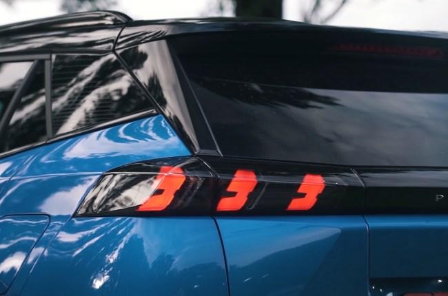 Peugeot 2008 задние фонари