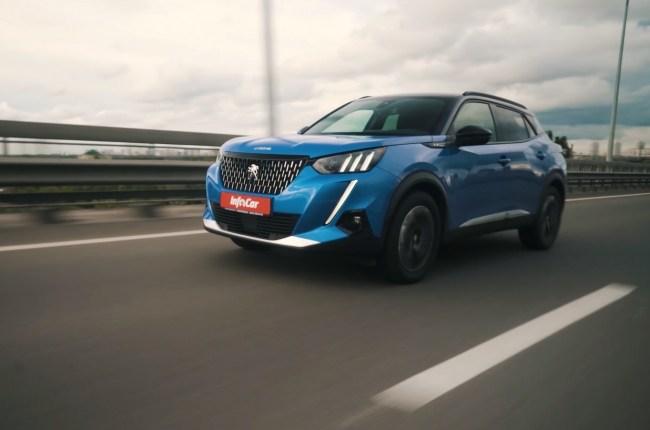 Peugeot 2008 поведения на дороге