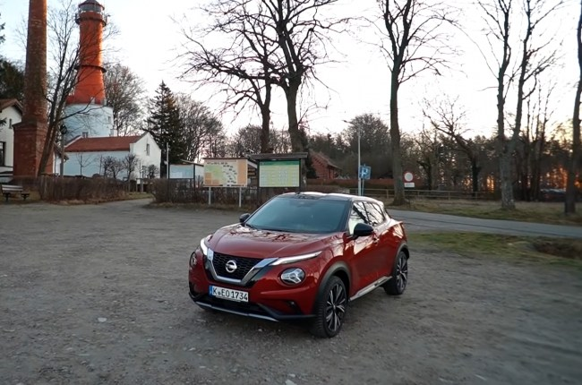 Nissan Juke: three cylinders, a