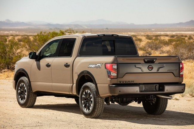 Nissan Titan: очередной рестайлинг мощного пикапа. Nissan Titan