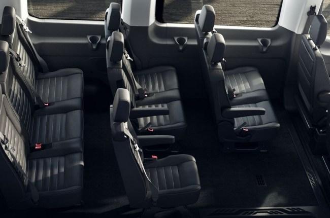 Ford Transit: фургон на все случаи жизни. Ford Transit Kombi