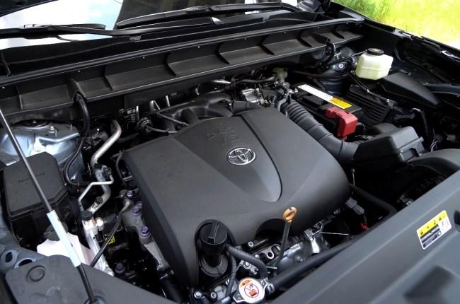 Toyota Highlander двигатель