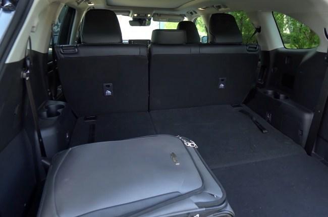 Toyota Highlander багажник
