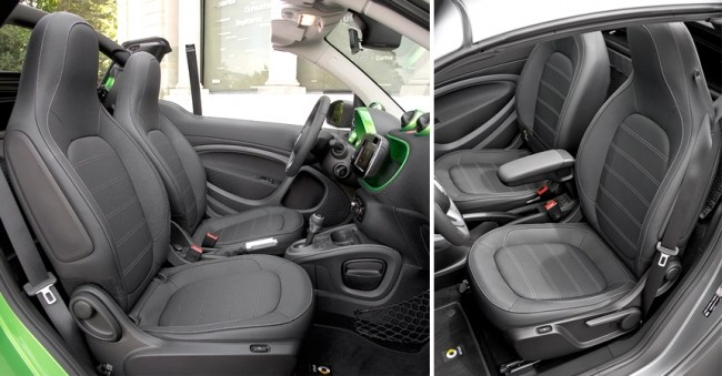 Электрокабриолет: smart EQ fortwo cabrio. smart EQ fortwo cabrio
